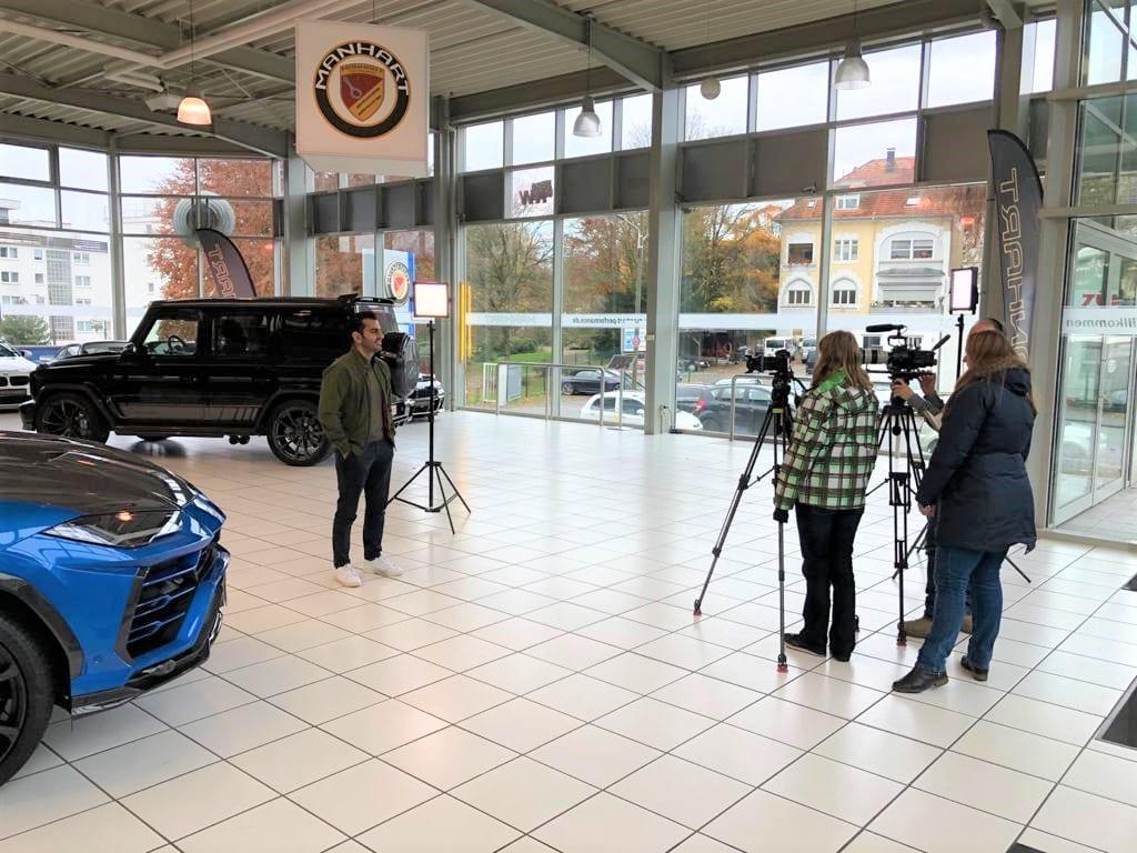 MANHART Back on German TV with Grip – The Motormagazin
