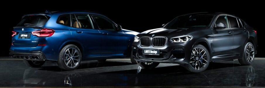 LARTE Design-Carbon-Parts für BMW X3 und X4