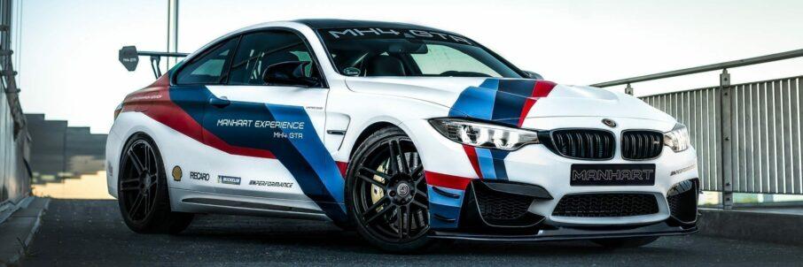 MANHART MH4 GTR – BMW M4-Sondermodell Noch Exklusiver und Kraftstrotzender