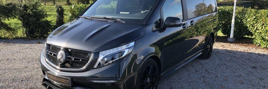Der Kompromiss Family-Van, Eine V-Klasse mit TopCar Design Bodykit